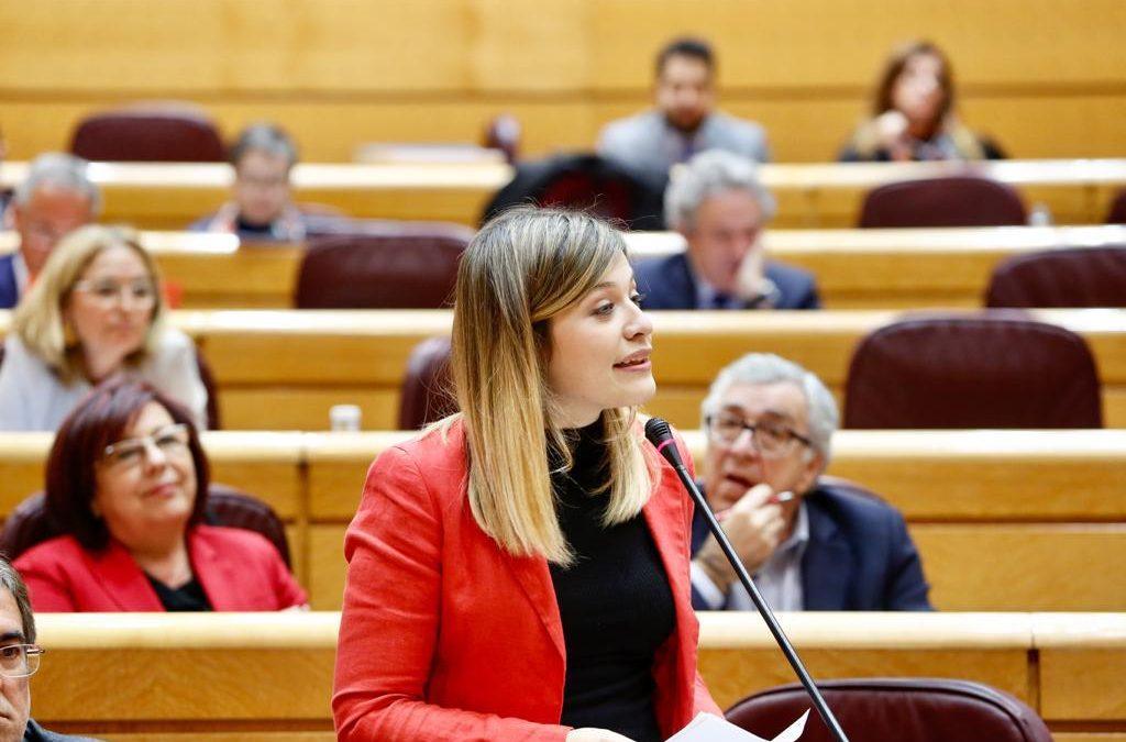 """Laura Berja: """"En el PSOE buscamos justicia y reparación con toda la dignidad; en Vox, PP y Ciudadanos deberían ponerse a buscar decencia y humanidad"""""""