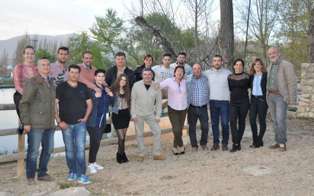 El PSOE presenta su lista «ganadora»en Cambil y Arbuniel con Camilo Torres como candidato a la Alcaldía