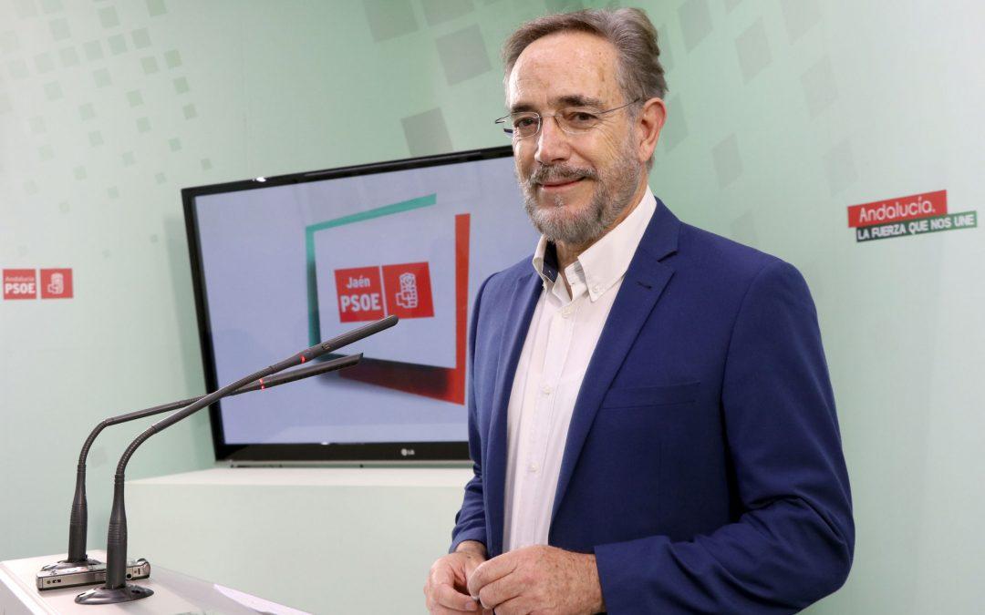 Felipe López ve «patético» que el PP intente apropiarse de la conexión de Vadollano con la vía Madrid-Cádiz