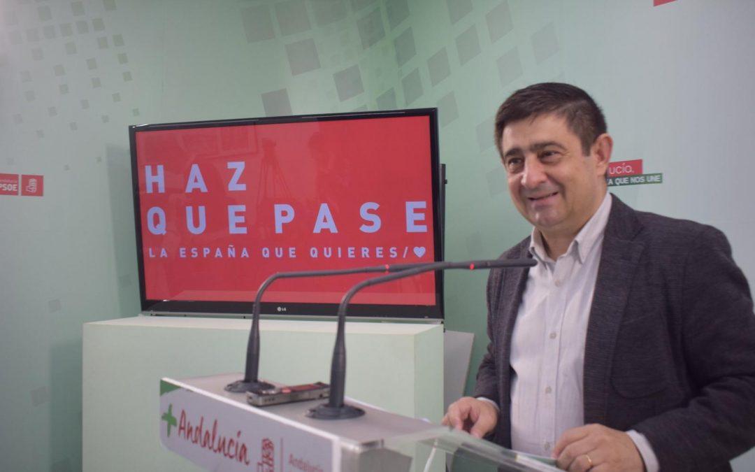 Reyes: «El PSOE representa el futuro frente a ese pasado que traen PP, Ciudadanos y Vox»