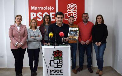 Manuel Lozano destaca el cumplimiento del programa electoral y agradece la implicación de todos «para sacar a Marmolejo del pozo donde lo metieron»