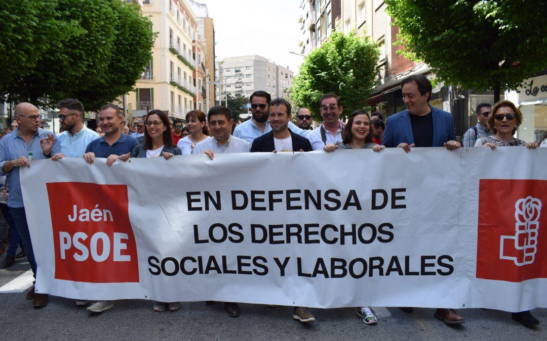 1 de Mayo: Reyes apuesta por seguir recuperando derechos laborales y salarios en España