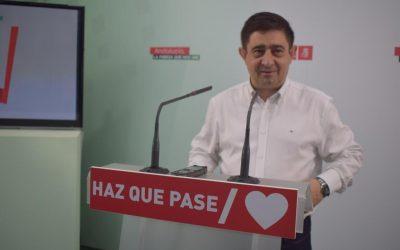 Reyes critica que las Delegaciones Territoriales están «desaparecidas», acusa a PP y Ciudadanos de «vivir de la herencia recibida» y les exige que «se pongan a trabajar»