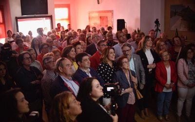 Susana Díaz pide a Alcaudete que «no se relaje» y dé la mayoría absoluta a Valeriano Martín