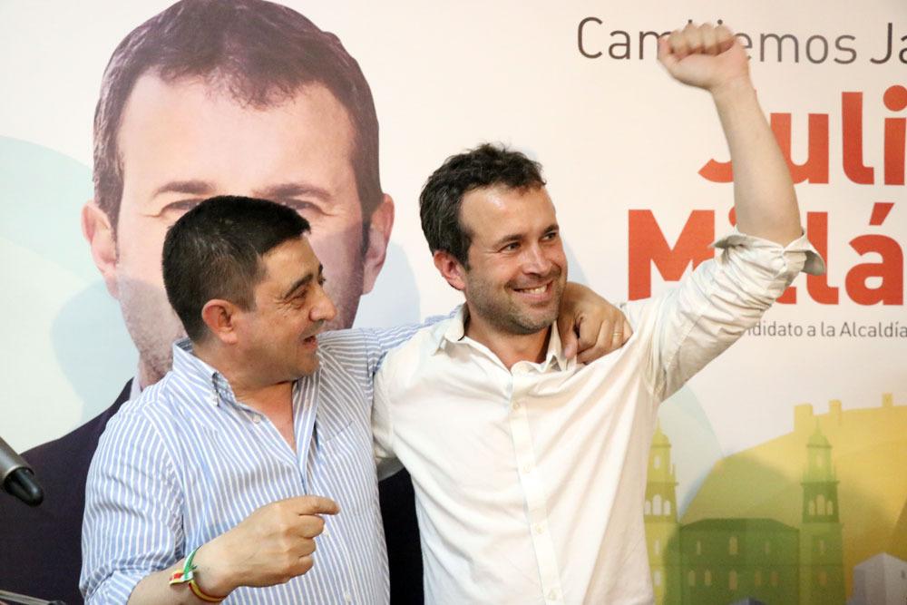 Vendaval rojo en la provincia de Jaén: el PSOE arrolla en las elecciones europeas y municipales