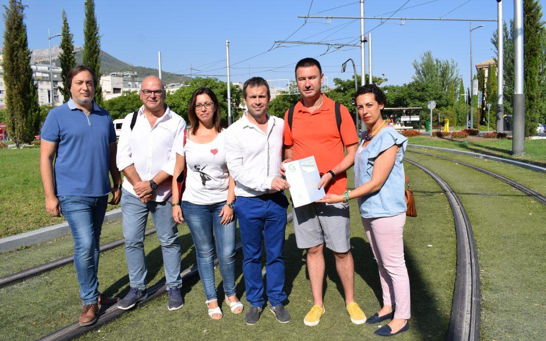 El PSOE apoya la marcha por el tren y reitera su compromiso con las propuestas del CES