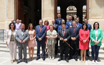 Susana Díaz: «La Diputación de Jaén está valorada dentro y fuera de Andalucía como un ejemplo de gestión»