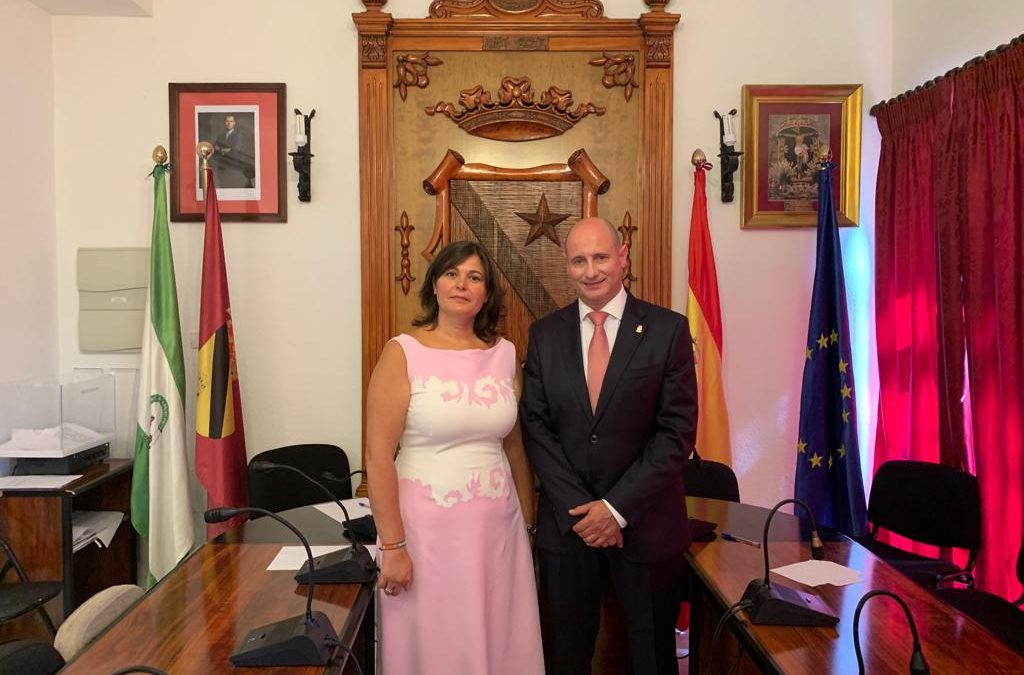 María Teresa García, primera alcaldesa de la democracia en Jódar
