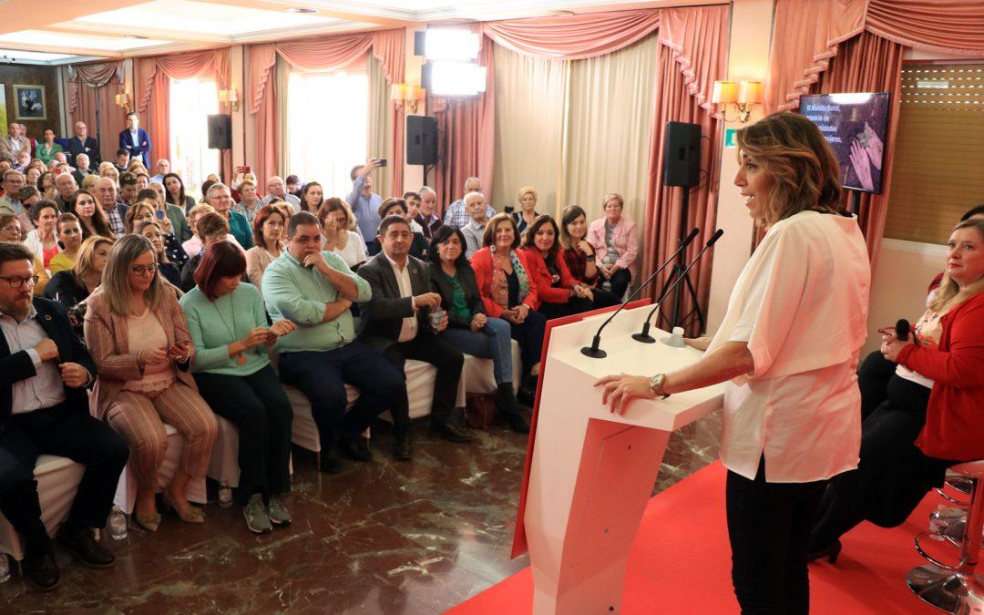 """Díaz defiende el """"papel fundamental"""" de la mujer rural"""