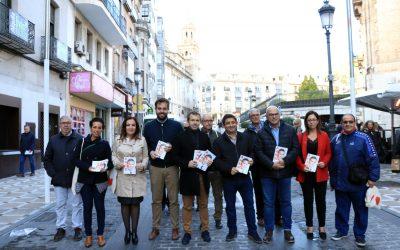 """Reyes pide movilización y voto progresista para el PSOE: """"Jaén necesita un Gobierno de izquierdas"""""""