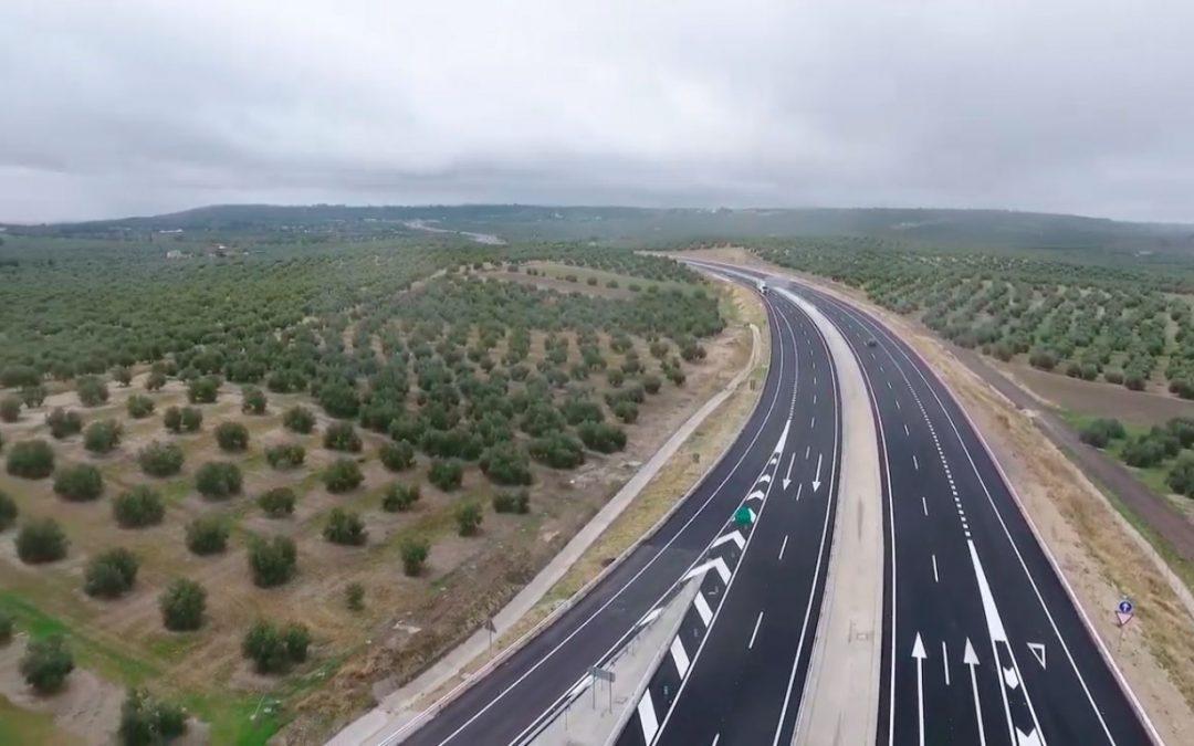"""Reyes muestra su satisfacción por la apertura del tramo Úbeda-Torreperogil y confía en que pronto haya gobierno """"para seguir relanzando las obras a Albacete"""""""