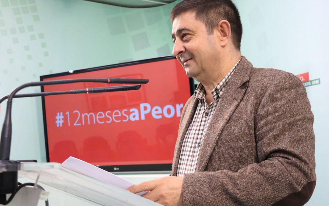 Los presupuestos de PP, Vox y C's, catastróficos para Jaén