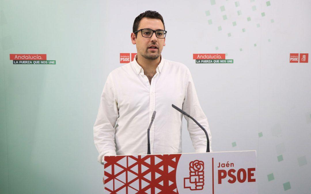Juventudes Socialistas de Jaén exige a la Junta que ponga en marcha de inmediato los Planes de Empleo