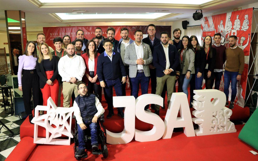 Juventudes Socialistas de Jaén culmina su renovación con una intensa defensa de la educación pública