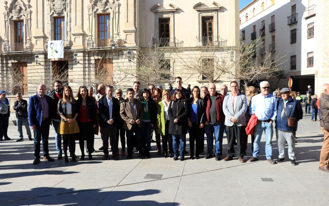 El PSOE de Jaén vuelve a secundar las movilizaciones en defensa del sector olivarero