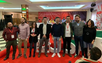 Lázaro Martínez, nuevo secretario general de Juventudes Socialistas de Jaén