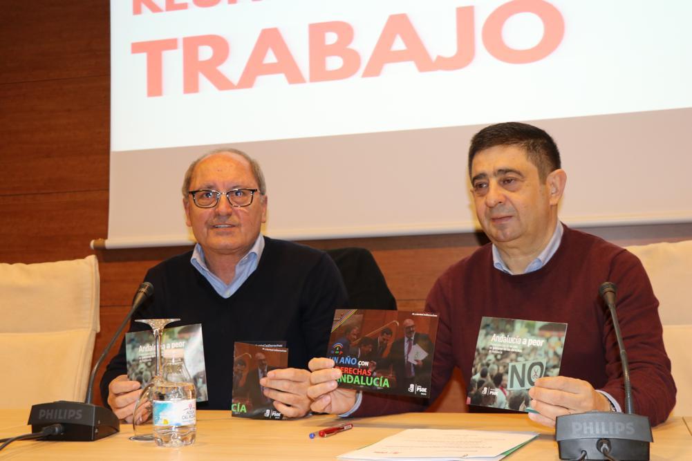 """Cornejo califica de """"nefasto"""" el año de la Junta de derechas: """"La gente se está movilizando y el PSOE no va a consentir este desmantelamiento"""""""