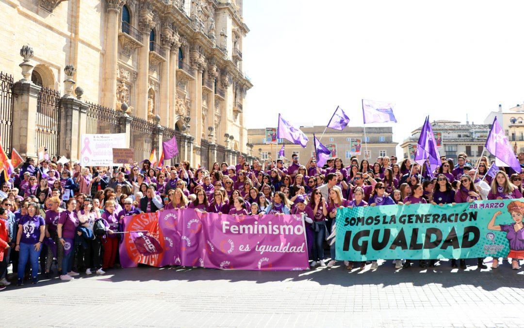 """Molina destaca que el Día Internacional de la Mujer """"volvió a tener un éxito de participación y de visibilidad en Jaén"""""""