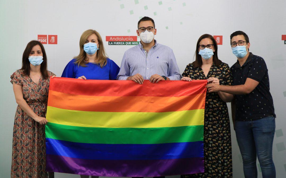 """El PSOE de Jaén conmemora un Día LGTBI """"reivindicativo"""" frente a la amenaza de la ultraderecha"""