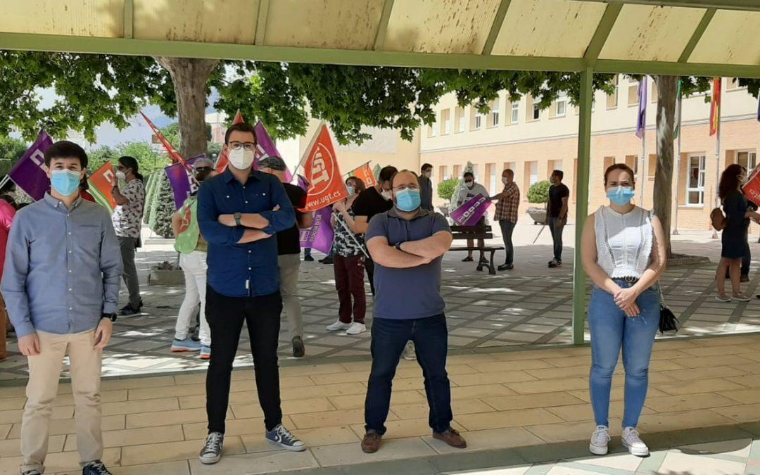 Juventudes Socialistas se suma a las protestas por el recorte de 135 millones de la Junta a las universidades