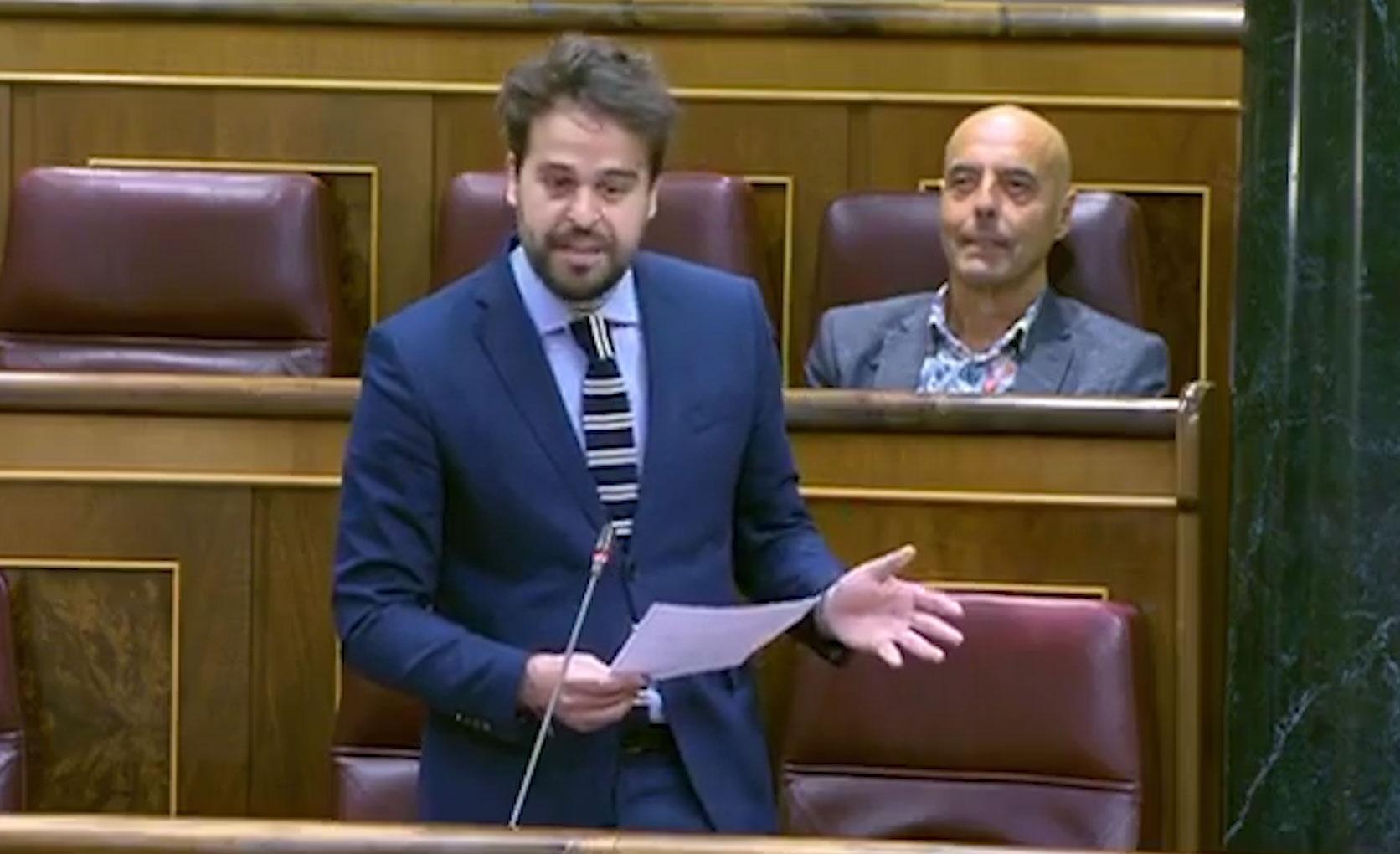 """Serrano: """"El Gobierno de España sigue trabajando para proteger al aceite de oliva ante la política comercial de Trump"""""""