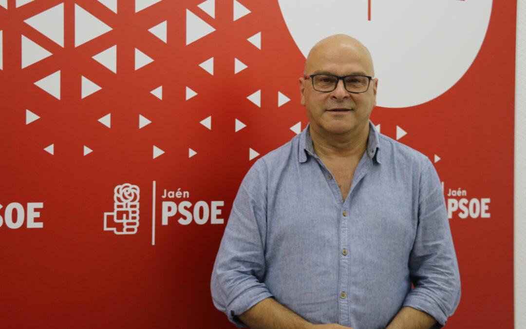 """El PSOE destaca la """"inminente"""" puesta en servicio del Grañena-Jaén: """"mejoramos prestaciones, acortamos tiempos y avanzamos en la conexión con Madrid"""""""