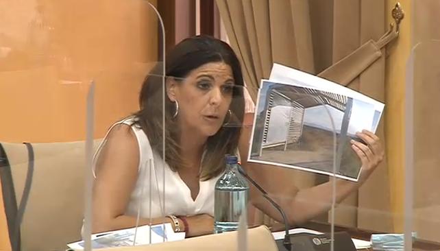 """La Junta mantiene """"un polvorín"""" en el yacimiento de Bruñel por abandono y falta de mantenimiento"""