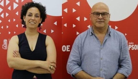El PSOE pide ayudas a Junta y Gobierno para la restauración de la zona incendiada