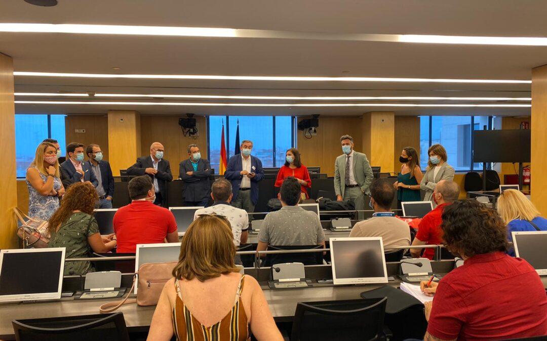 El Grupo Parlamentario Socialista en Madrid traslada su apoyo a los trabajadores de Comdata