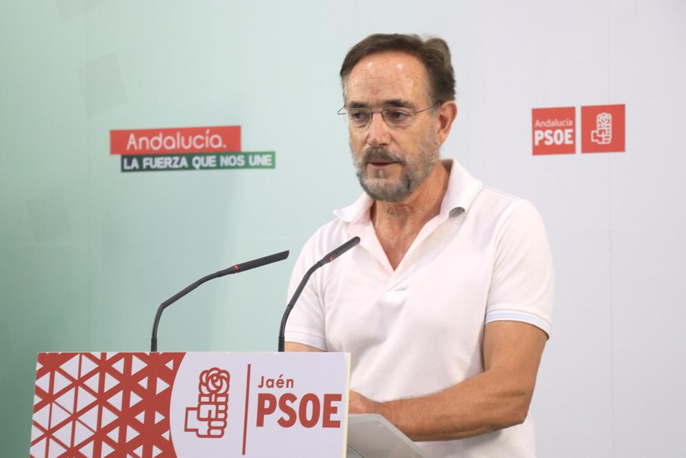 """Felipe López señala que """"el gobierno de Moreno Bonilla está huyendo de sus responsabilidades e intenta maquillar la realidad"""""""