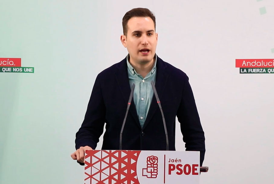 """El PSOE lamenta la """"rabieta infantil"""" de la Junta ayer en Jimena y le pide a Moreno Bonilla que """"en vez de enfadarse, se alegre de la coordinación institucional"""""""