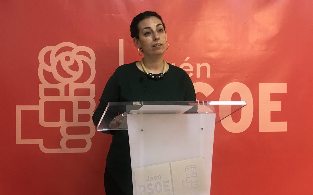 Mercedes Gámez dice que el PP es el responsable del secuestro político del transporte público y del progreso de la ciudad de Jaén y le pide que aclare a los ciudadanos si está con el interés general o con el particular de Castillo