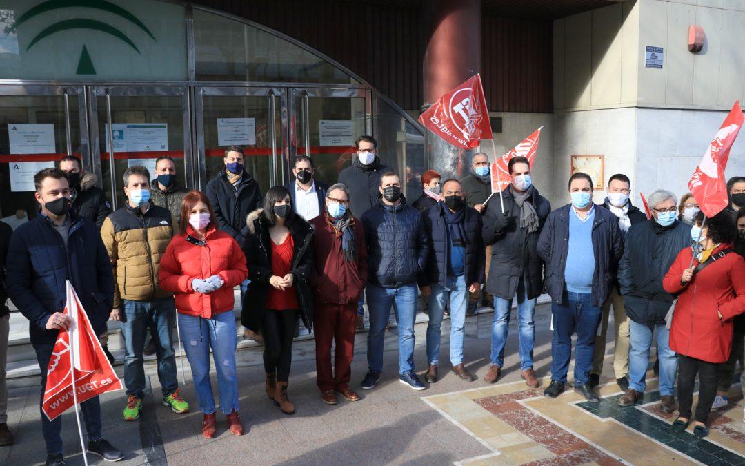 """El PSOE exige a Moreno Bonilla una solución inmediata ante """"el problema social"""" que supone el cierre de los comedores escolares"""