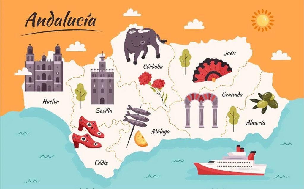 Increíble desprecio a Jaén: La Junta propone un viaje de 13 días por Andalucía y excluye a la provincia de la ruta