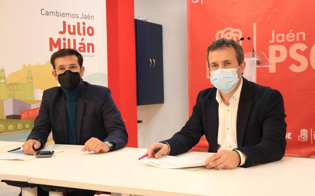 """Millán reivindica la necesidad de la conexión ferroviaria Jaén-Granada, que supondría """"una clara rentabilidad social y económica"""""""