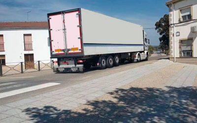 El PSOE de Guarromán denuncia la situación de inseguridad en Los Ríos por el tráfico pesado que soporta a diario