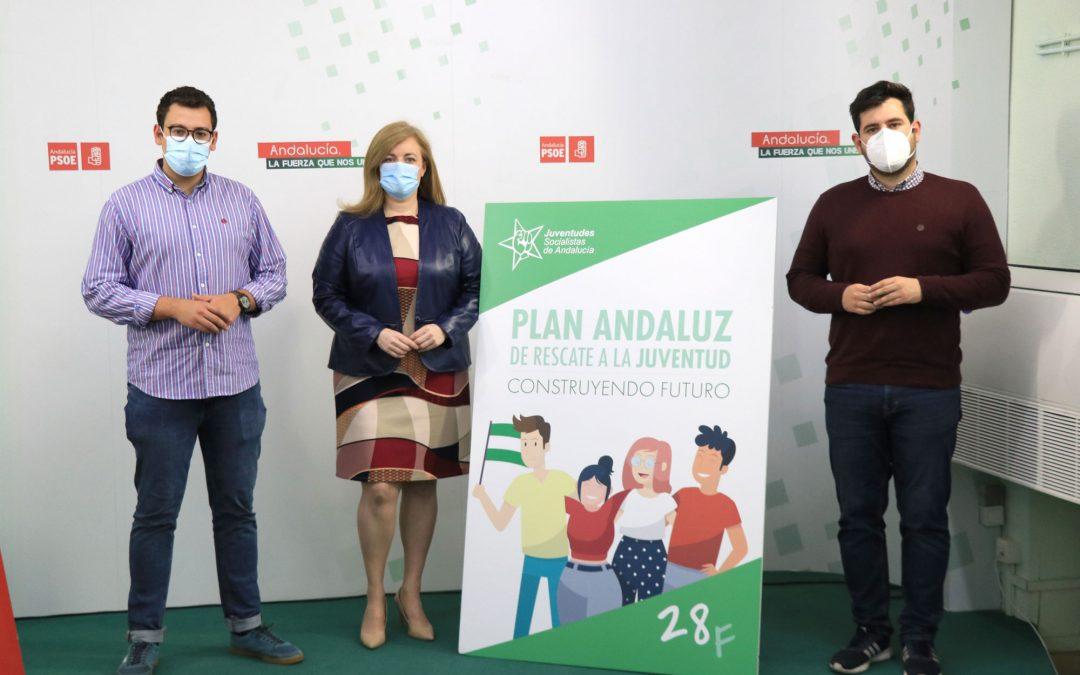 """Juventudes Socialistas presenta un Plan de Rescate a los Jóvenes con 165 medidas """"que llegarán a las instituciones"""""""