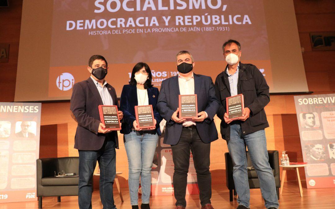 """Santos Cerdán: """"La historia del PSOE no se puede contar sin la historia del PSOE de Jaén"""""""