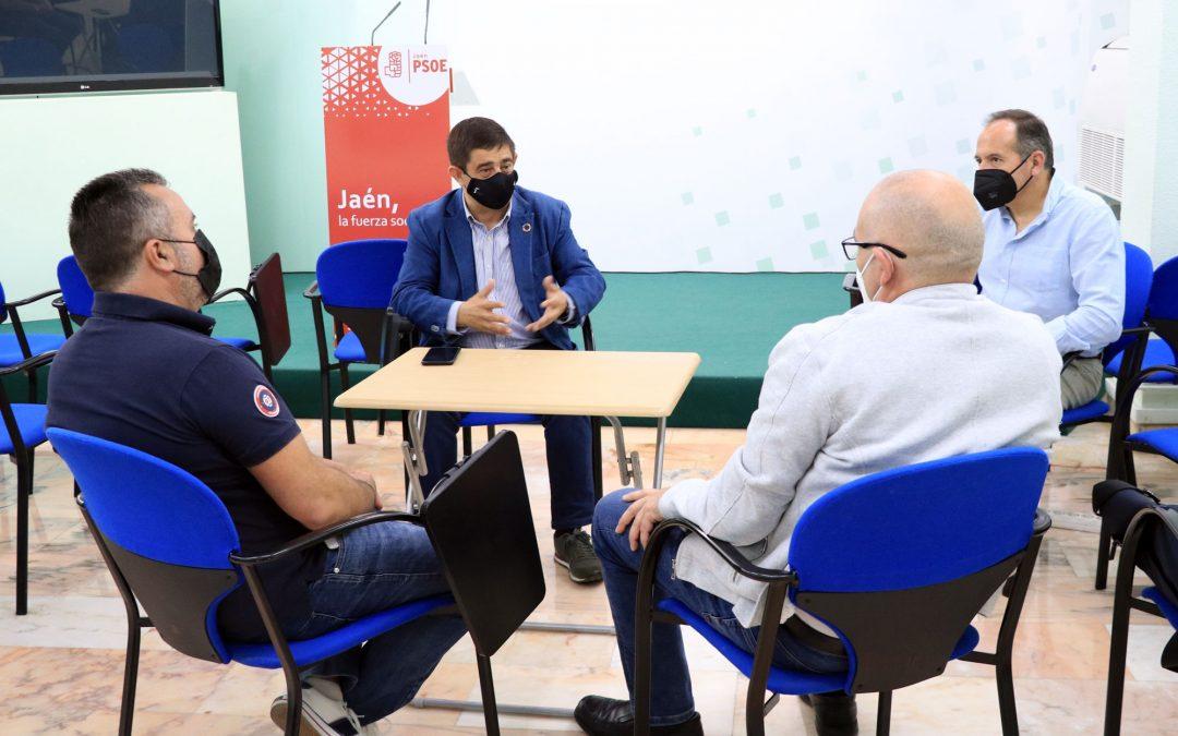 """Reyes traslada el apoyo del PSOE al sector feriante: """"hay que recuperar los eventos que puedan celebrarse con todas las garantías de seguridad"""""""
