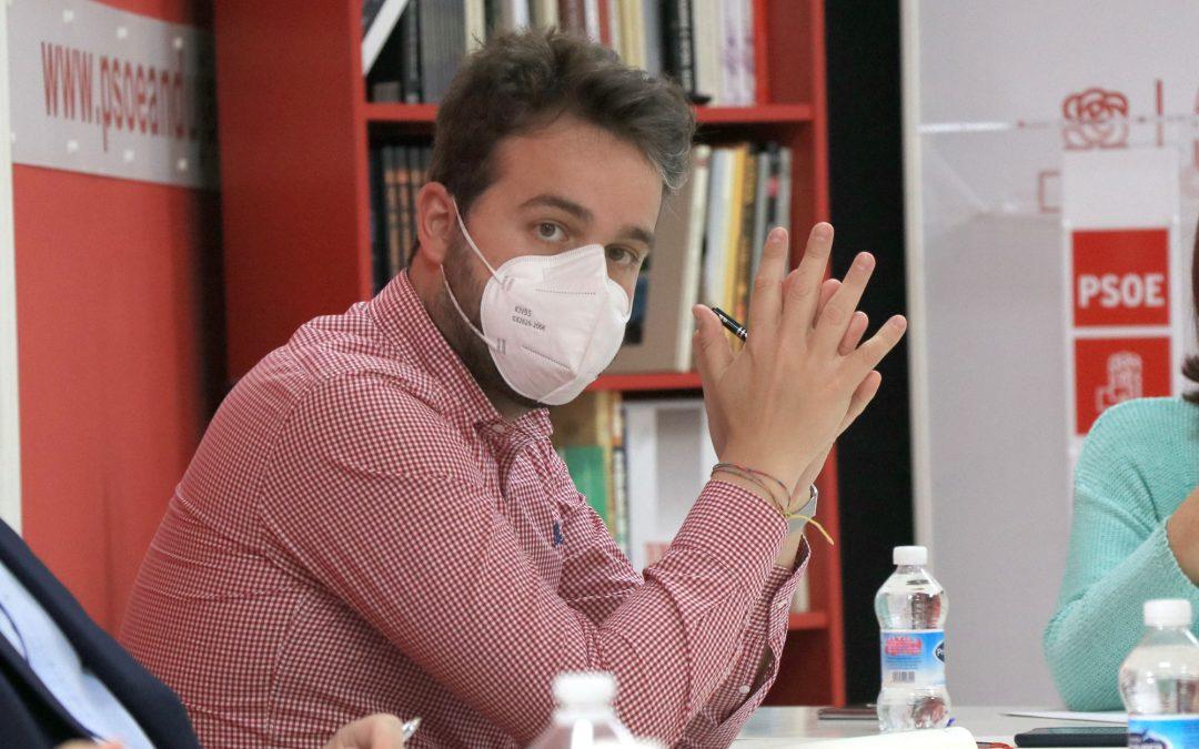 """Serrano destaca que el Gobierno """"empieza a reparar la injusticia"""" que el PP cometió con la conexión de Baeza a la A-32"""
