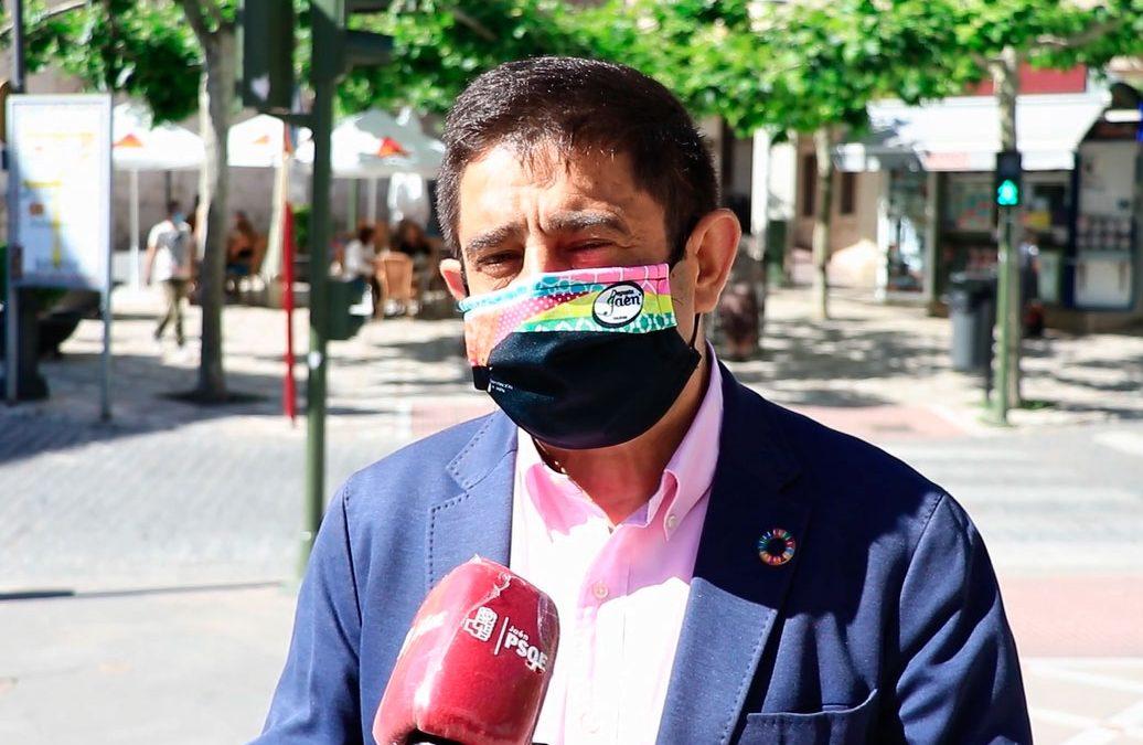 """Reyes exige a Moreno Bonilla que """"se ponga las pilas"""" con la despoblación y lamenta que Andalucía haya quedado """"descolgada"""" de la unión de 8 comunidades autónomas"""