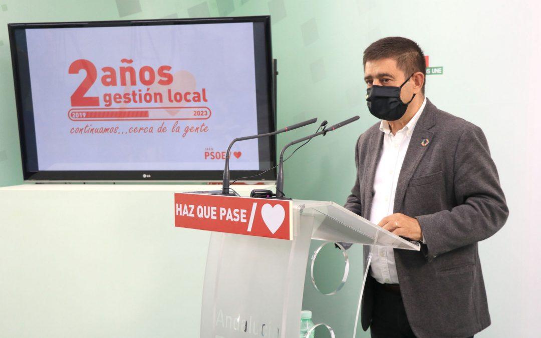 """Reyes valora la gestión """"modélica"""" de alcaldes y alcaldesas socialistas en estos 2 años de mandato"""