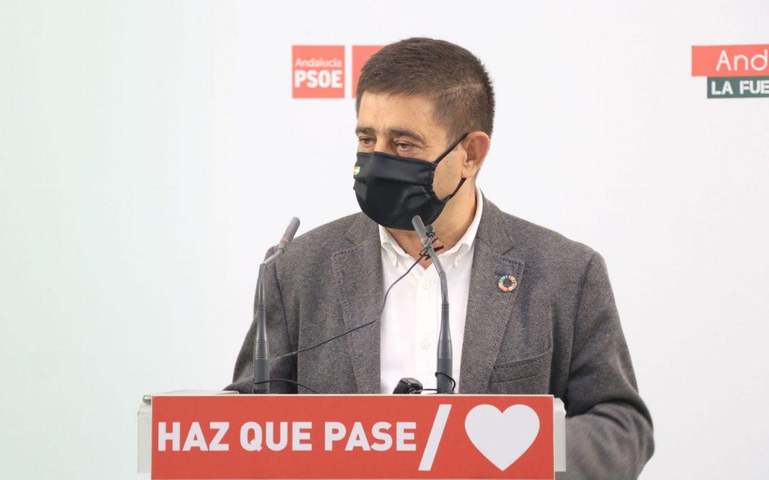 """Reyes lamenta la """"desfachatez"""" de Bonilla: recuerda que Jaén perdió 100.000 viajeros de tren y 272 millones de la PAC con el PP"""
