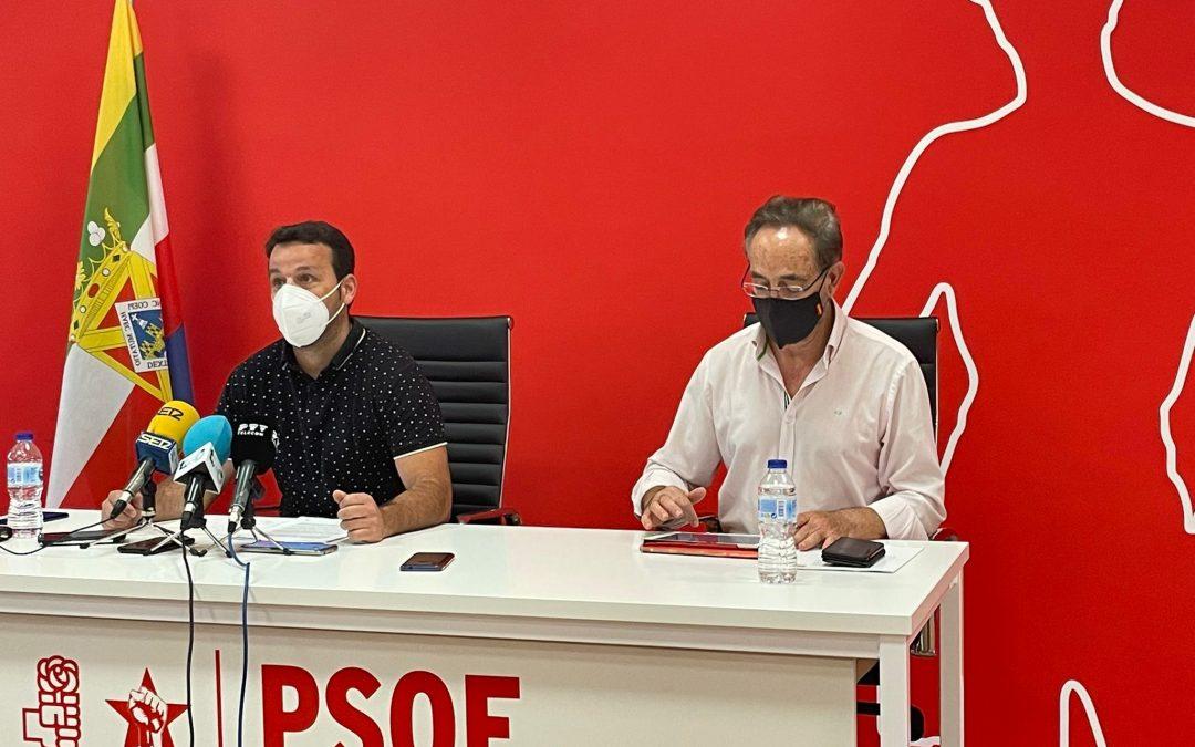 """El PSOE pide la comparecencia del consejero Velasco por la """"fantasmada"""" y """"la falta de respeto"""" del recorte al Parque de Santana"""