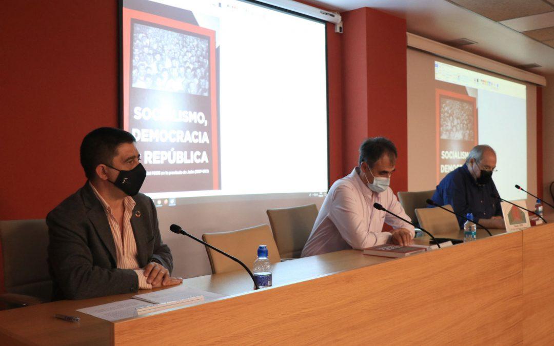 Jaén Debate acoge la presentación del libro Socialismo, Democracia y República